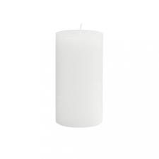 RUSTIC II. gyertya 13cm fehér dekoráció