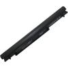 S40C Series 2200 mAh 4 cella fekete notebook/laptop akku/akkumulátor utángyártott
