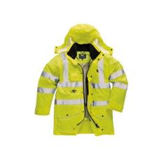 S427 - Jól láthatósági 7 az 1-ben kabát - sárga