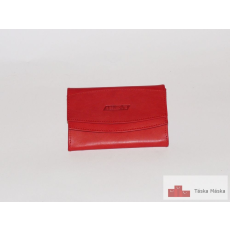 S.Belmonte bőr női pénztárca RED MC29