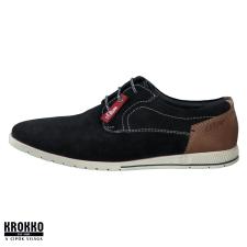 S.Oliver 13635-24-805 kék fűzős utcai félcipő férfi cipő