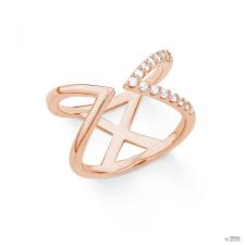 S.Oliver ékszer Női gyűrű ezüst RosĂŠ cirkónia X 201860 56 (17.8 mm Ă?) gyűrű