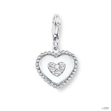 S.Oliver ékszer Női medál szív ezüst cirkónia SOCHA/240 - 508803 medál