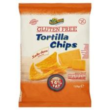Sam Mills gluténmentes sajtos ízesítésű tortilla chips 125 g alapvető élelmiszer