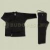 Saman Karate ruha, Saman, Budo Black, fekete, pamut, 12 oz