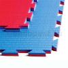 Saman Tatami, 1m*1m*2cm, Professional Double, piros-kék