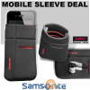 SAMSONITE MOBILE SLEEVE M (BLACK/RED) -AIRGLOW MOBILE