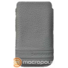 SAMSONITE Slim Classic Leather/Classic Sleeve/iPhone/grey