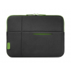 SAMSONITE u37-019-003 airglow fekete-zöld notebook