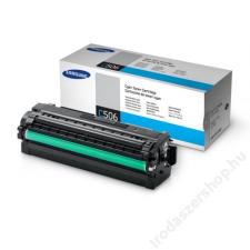Samsung CLT-C506L Lézertoner CLP 680ND, CLX 6260 nyomtatókhoz, SAMSUNG kék, 3,5k (TOSAM680CH) nyomtatópatron & toner