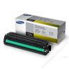 Samsung CLT-Y504S Lézertoner CLP 415, CLX 4195 nyomtatókhoz, SAMSUNG sárga, 1,8k (TOSAM415Y)