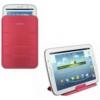 Samsung EF-SP520BH szövetbevonatos támasztós tok rózsaszín (P5200, P5210 Galaxy Tab 3 10.1)*
