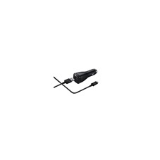 Samsung EP-LN930 Adaptive Fast Charging 15W autós töltő mikro-USB kábellel (fekete) audió/videó kellék, kábel és adapter
