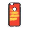 Samsung Forcell Thermo Samsung J320 Galaxy J3 (2016) hőre változó hátlapvédő szilikon tok piros