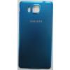 Samsung G850 Galaxy Alpha akkufedél kék*