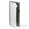 Samsung G950 Galaxy S8 gyári Clear View flip tok, ezüst, EF-ZG950CS, (SM-G950)