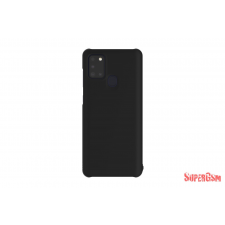 Samsung Galaxy A21s Prémium tok, Fekete tok és táska