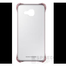 Samsung Galaxy A5 (2016) gyári Clear Cover hátlap tok, pink, EF-QA510CZEG, (SM-A510) tok és táska