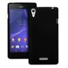 Samsung Galaxy E7 SM-E700F, Műanyag hátlap védőtok, fekete