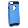 Samsung Galaxy J1 (2016) SM-J120, Műanyag hátlap védőtok, ütésálló, Forcell Panzer Moto Case, kék