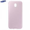 Samsung Galaxy J5 (2017) SM-J530F, TPU szilikon tok, rózsaszín, gyári, EF-AJ530TPE