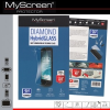 Samsung Galaxy J5 SM-J500F, Kijelzővédő fólia, ütésálló fólia, MyScreen Protector, Hybridglass, 1 db / csomag