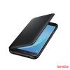 Samsung Galaxy J7 (2017) flip tok,Fekete
