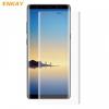 Samsung Galaxy Note 8 SM-N950, Kijelzővédő fólia, ütésálló fólia (az íves részre is!), Tempered Glass (edzett üveg), Enkay, Clear