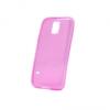 Samsung Galaxy S5 Mini SM-G800, TPU szilikon tok, ultravĂŠkony, rĂłzsaszĂn