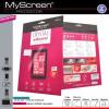 Samsung Galaxy S6 Edge SM-G925, Kijelzővédő fólia (teljes felületre), MyScreen Protector, Clear Prémium, szennyeződés- és baktériummentes, 1 db / csomag