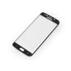 Samsung Galaxy S6 Edge SM-G925, Kijelzővédő fólia, ütésálló fólia, Tempered Glass (edzett üveg), hajlított, fekete
