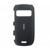 Samsung Galaxy S6 SM-G920, Műanyag hátlap védőtok, szilikon keret, matt átlátszó/fekete