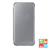 Samsung Galaxy S7+ clear view cover tok, Ezüst