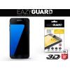 Samsung Galaxy S7 Edge SM-G935, Kijelzővédő fólia (az íves részre is), Eazy Guard, Diamond Glass (Edzett gyémántüveg), 3D Fullcover , fekete