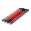 Samsung Galaxy S7 Edge SM-G935, Kijelzővédő fólia (az íves részre is!), elő és hátlapi, Forcell Full Cover, Clear Prémium