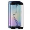Samsung Galaxy S7 Edge SM-G935, Kijelzővédő fólia, ütésálló fólia, Tempered Glass (edzett üveg), hajlított, fekete