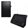 Samsung Galaxy Tab S 8.4 SM-T700, bőrtok, mappa tok, fekete
