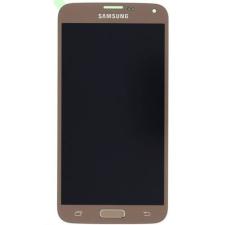 Samsung Gyári Samsung G903 S5 neo LCD modul arany színben ORG mobiltelefon kellék