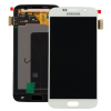 Samsung Gyári Samsung G920 S6 LCD modul fehér színben ORG