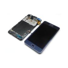 Samsung Gyári Samsung i9105 S2 Plus LCD modul sötétkék színben ORG mobiltelefon kellék