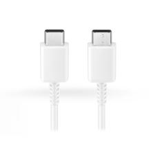 Samsung gyári USB Type-C - USB Type-C adat- és töltőkábel 95 cm-es vezetékkel - EP-DG977BWE - white (ECO csomagolás) kábel és adapter