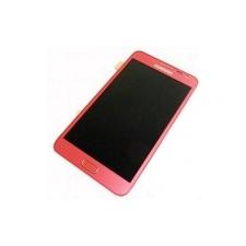 Samsung i9220 (N7000) Galaxy Note lcd kijelző érintőpanellel rózsaszín** mobiltelefon előlap