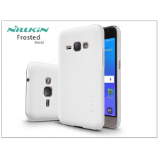 Samsung J120F Galaxy J1 (2016) hátlap képernyővédő fóliával - Nillkin Frosted Shield - fehér tok és táska