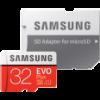Samsung microSDHC EVO Plus 32GB memóriakártya + adapter (MB-MC32GA-EU)