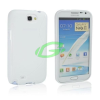Samsung N7100 Note 2 fehér szilikon tok