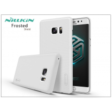 Samsung N930F Galaxy Note 7 hátlap képernyővédő fóliával - Nillkin Frosted Shield - fehér tok és táska