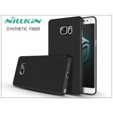 Samsung N930F Galaxy Note 7 hátlap - Nillkin Synthetic Fiber - fekete tok és táska