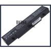 Samsung NP-Q460 4400 mAh 6 cella fekete notebook/laptop akku/akkumulátor utángyártott