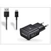 Samsung Samsung gyári USB hálózati töltő adapter + micro USB adatkábel - 5V/2A - EP-TA20EBE + ECC1DU4BBE black (ECO csomaglás)