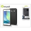 Samsung Samsung SM-A500F Galaxy A5 hátlap - Muvit miniGel - black